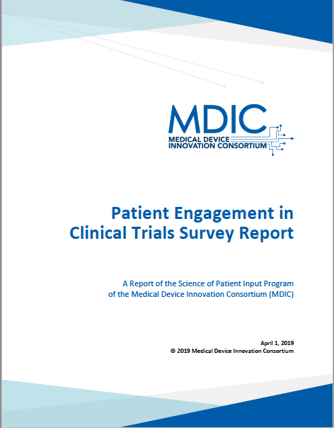 Patient Engagement in Clinical Trials Survey Report